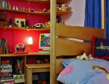 children's bedroom – birch ply
