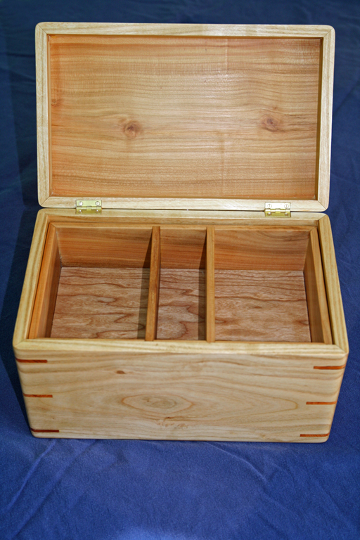 Jewellery Box - cherry & yew