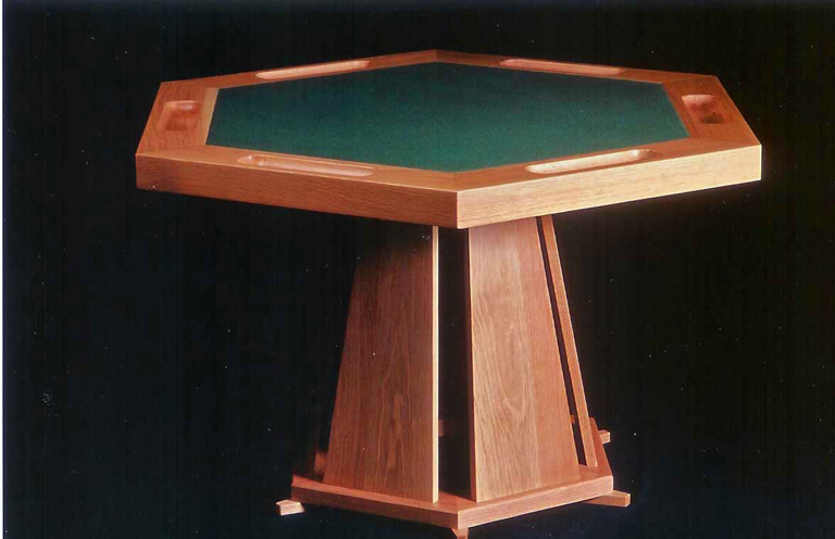 Poker Table - oak
