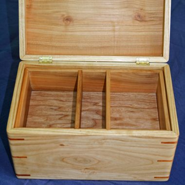 jewellery box – cherry & yew