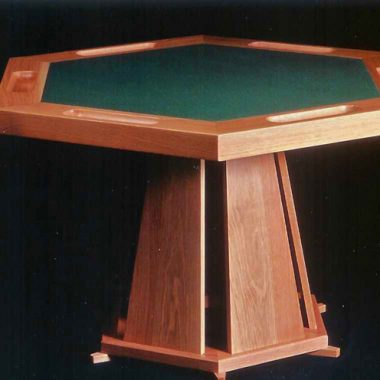 poker table – oak