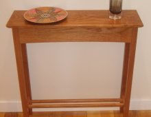 hall table – ash