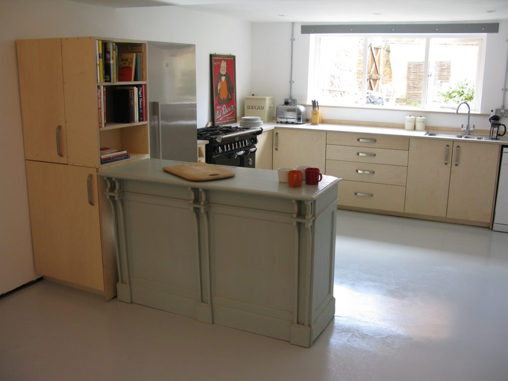 birch ply kitchen formica