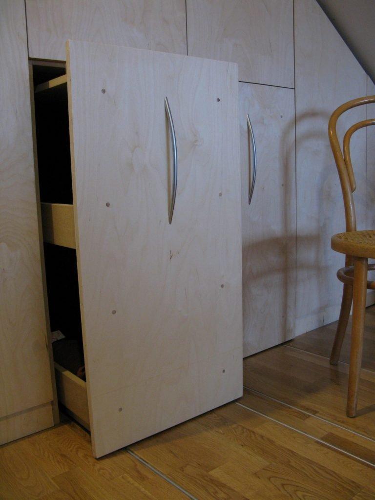 wardrobes birch ply