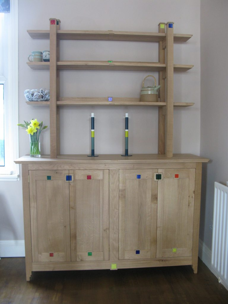 dresser solid oak