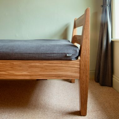 Shaker day bed in stunning brown oak