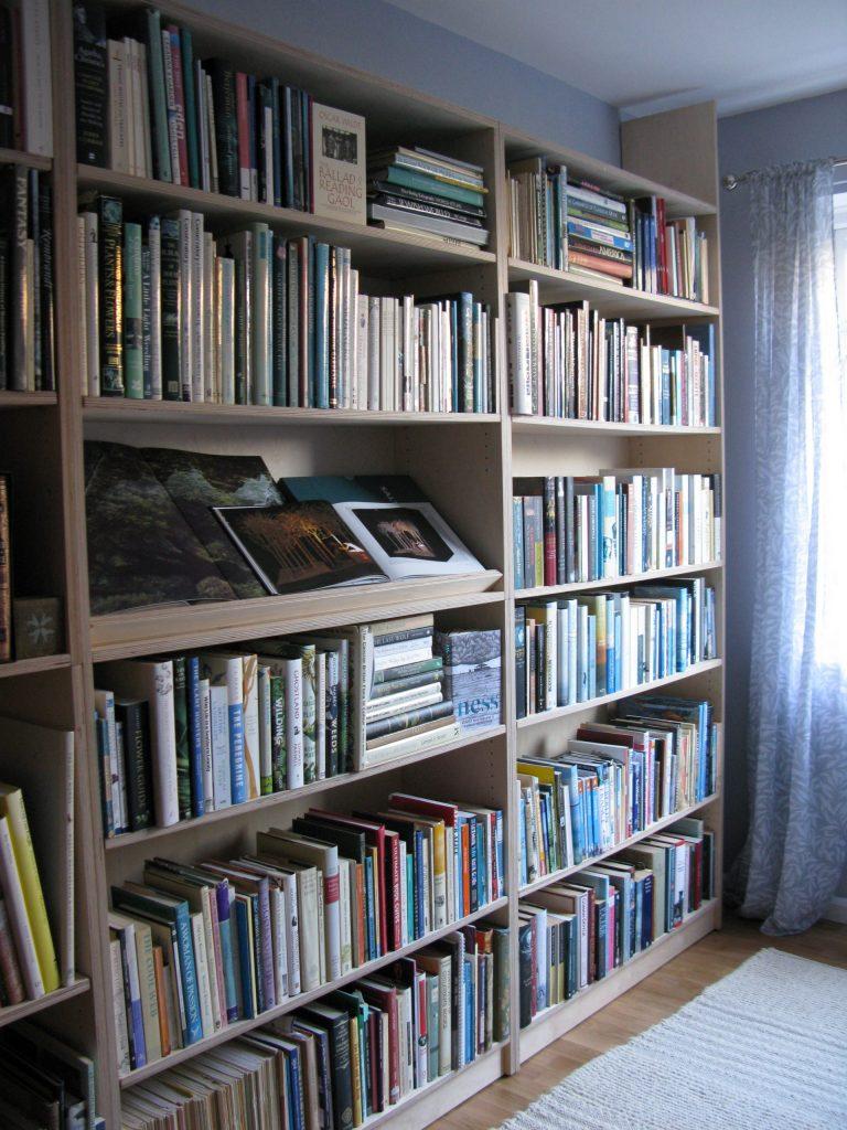 birch ply bookcases