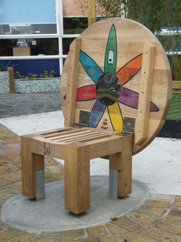 sweet chestnut story-telling chair